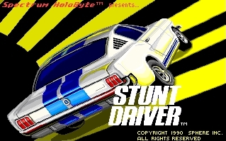 Stunt Driver by Spectrum Holobyte